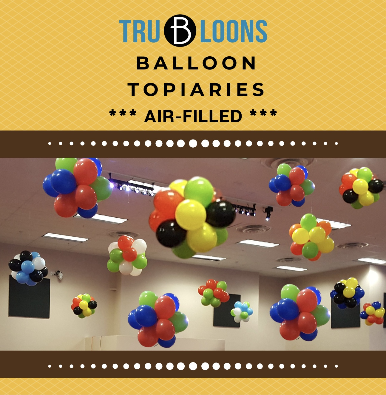 Diy Topiary Balloon Kit Tru B Loons